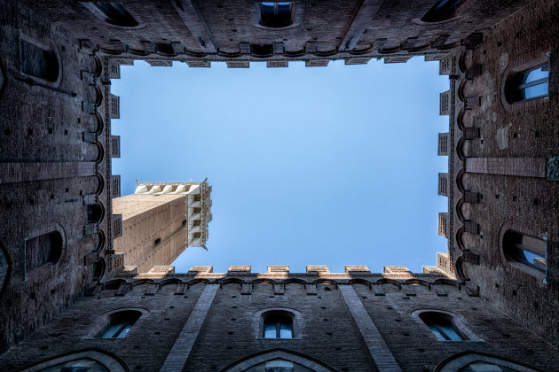 Andere kijk op Torre del mangia