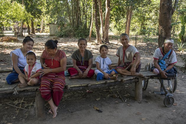At home with the Karen people