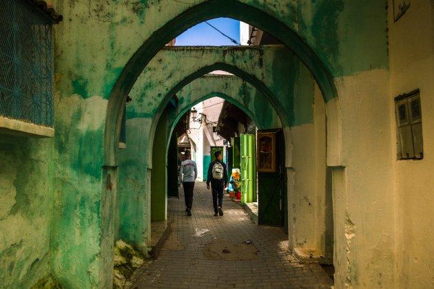 De authentieke medina van Ouezzane