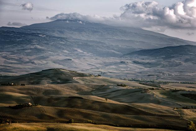 Uitzicht vanuit Pienza