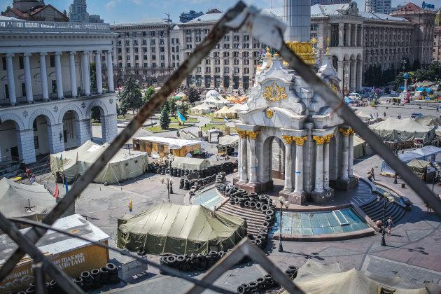 Kiev, 5 jaar geleden