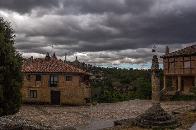 Noodweer boven Calatañazor