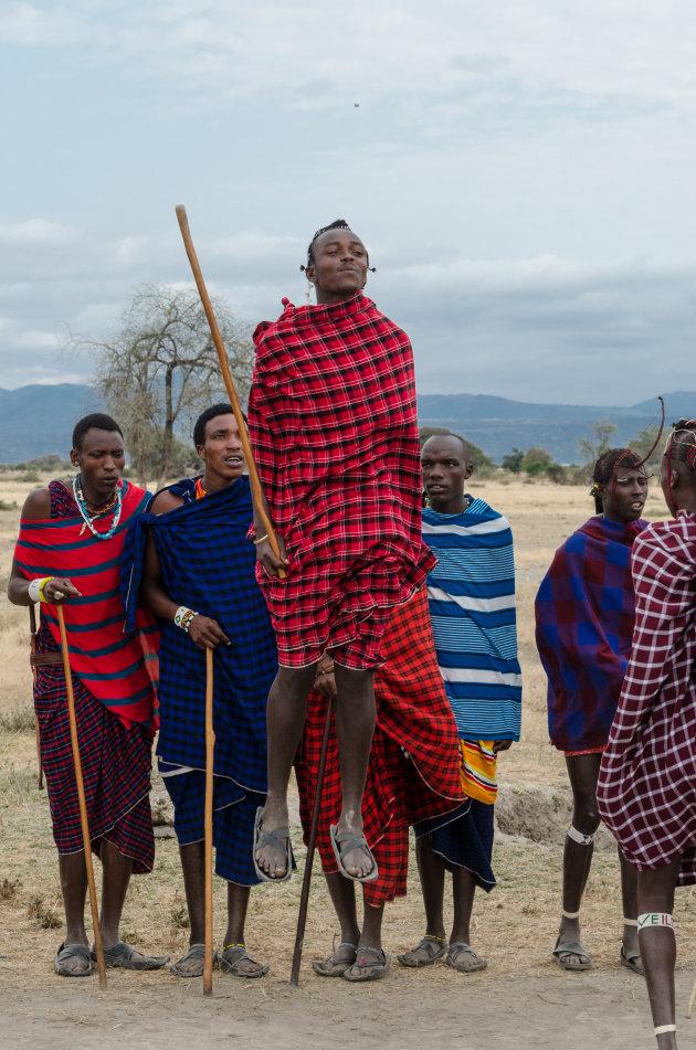 Bezoek aan de Masai