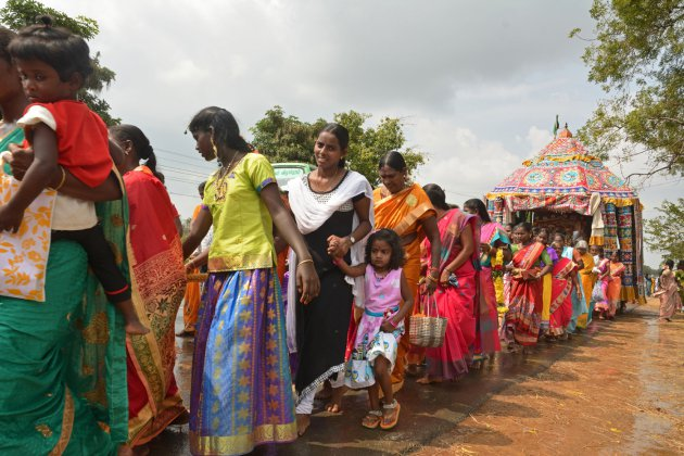 Good luck processie