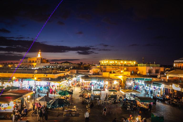 Hoofdfoto bij reisverhaal 'Marrakesh een wereldstad van formaat.'
