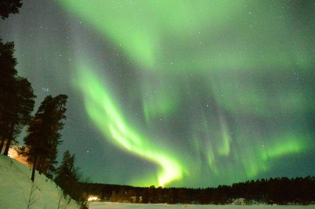 Aurora Borealis in Inari