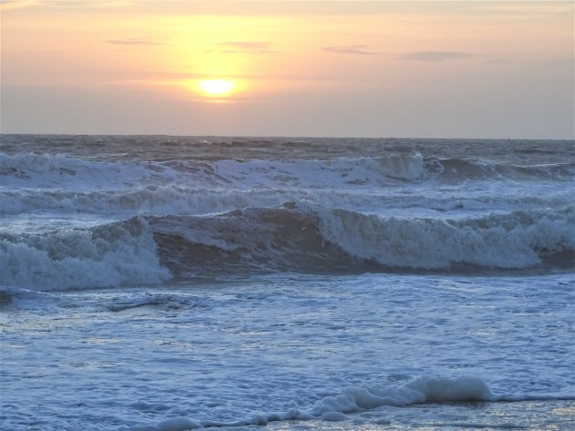 Hoge golven.