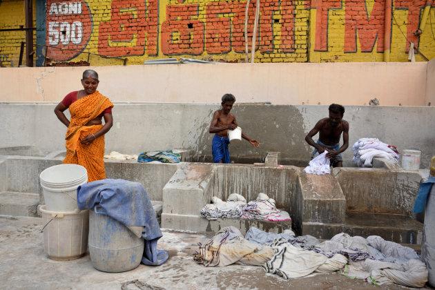 Wasserij in Madurai
