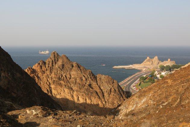de Corniche van Muscat