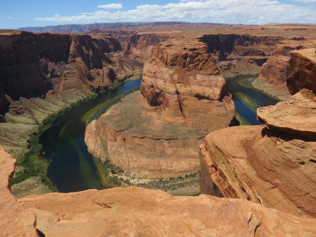 Colorado River bij het hoefijzer