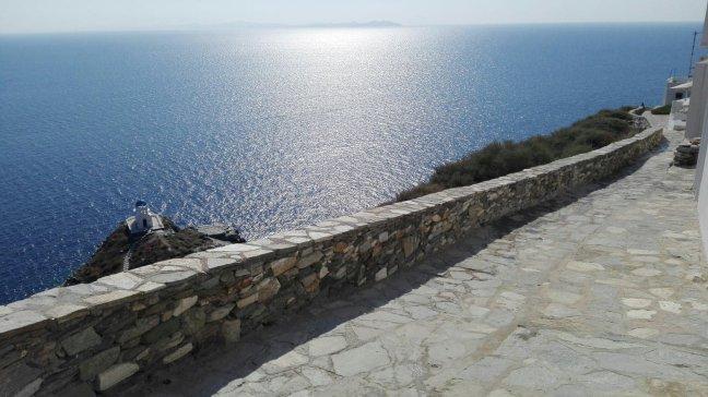 Sifnos - Vestingmuur rond Kastro