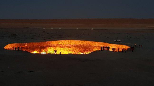 ' Gate of Hell'  in Turkmenistan