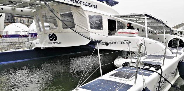 Energy Observer in Antwerpen