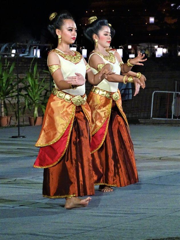 Thaise danseressen.