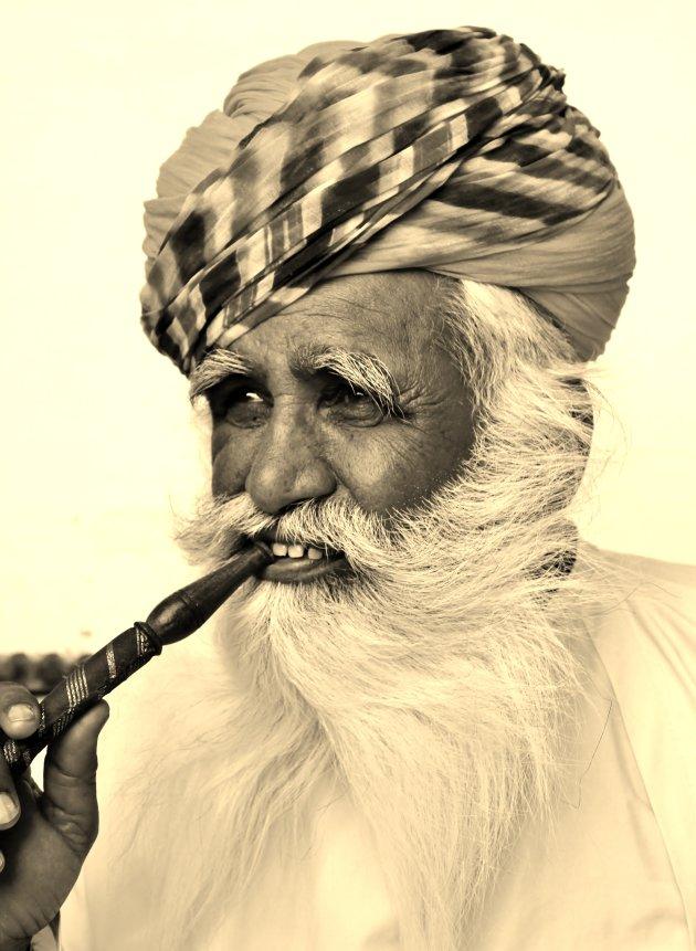 Witbaard in Jodhpur