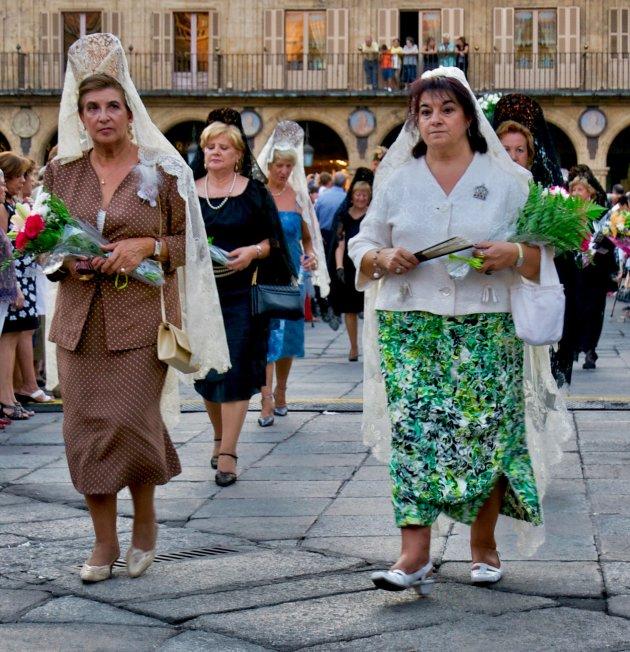 "Salamaca festival ""the Virgen de la Vega"""