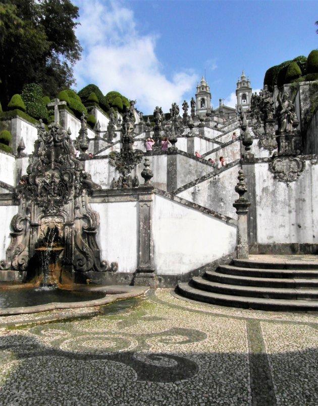 barokke trap Bom Jesus do Monte