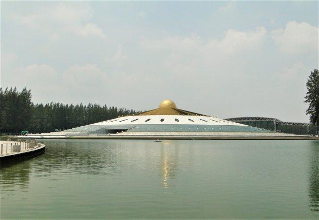 Enorme moderne Tempel.