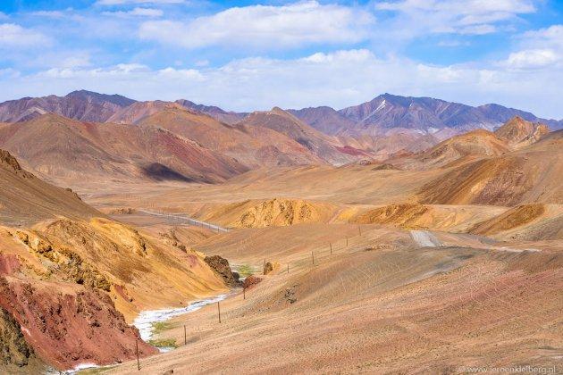 Het hoogste punt van de Pamir Highway