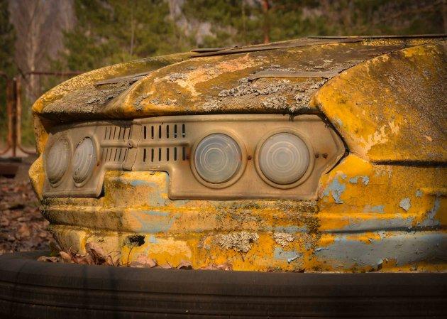 Radioactieve bumper car