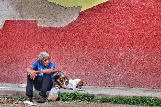In de straatjes van Trinidad