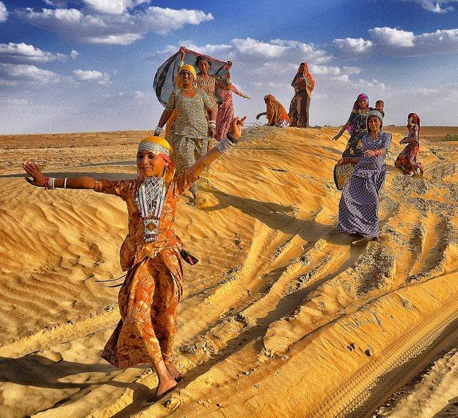Woestijnvolk maakt het feestje compleet