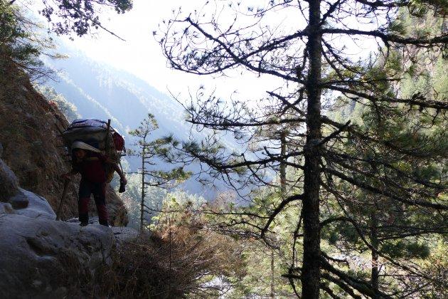 Sherpa in Nepal