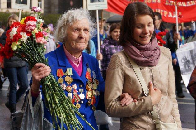9 mei: Bevrijdingsdag in Sint Petersburg