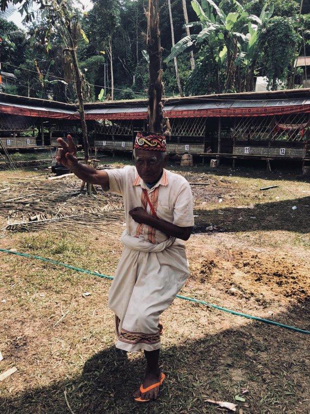 De bevolking in Tana Toraja