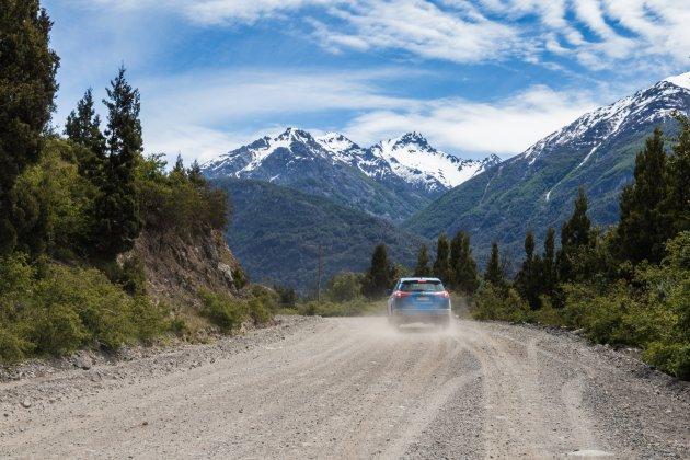 Ruta 40: rijden op gravelwegen