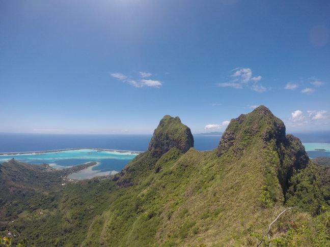 Hike op Bora Bora