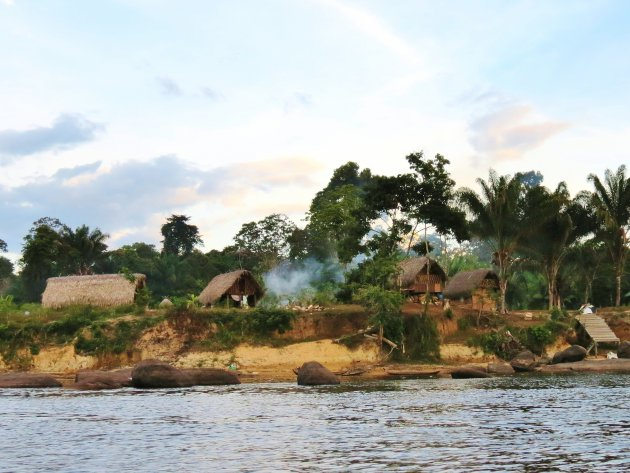 Aan de Surinamerivier