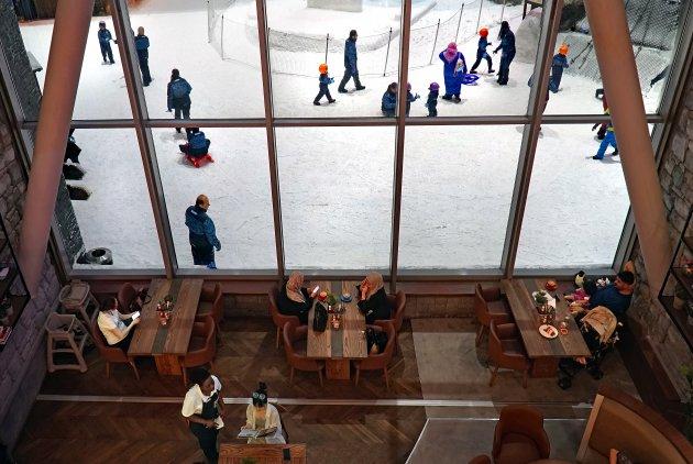 Ski Dubai: tuben, boarden en fun op echte sneeuw