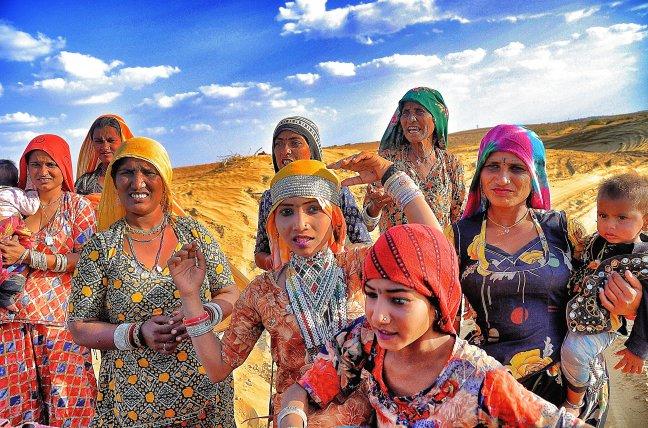 Vrouwen van de Tharwoestijn