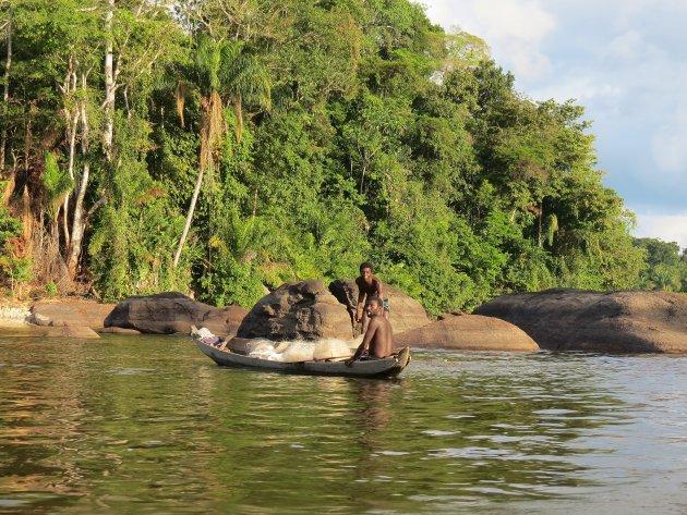 Op de Surinamerivier
