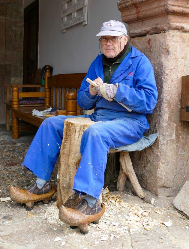Spaanse klompenmaker