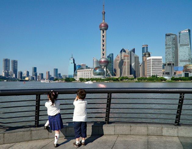 Kinderdag in Shanghai