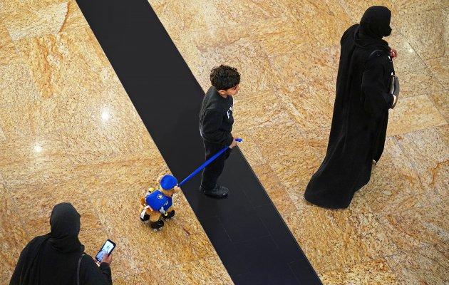Paw patrol in de mall