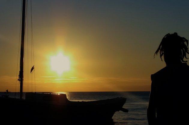 Sunset @ Caye Caulker