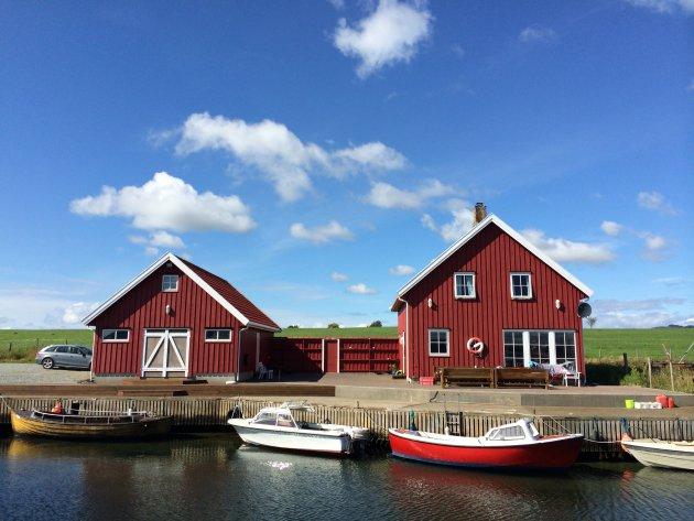 Aan het Noorse fjord