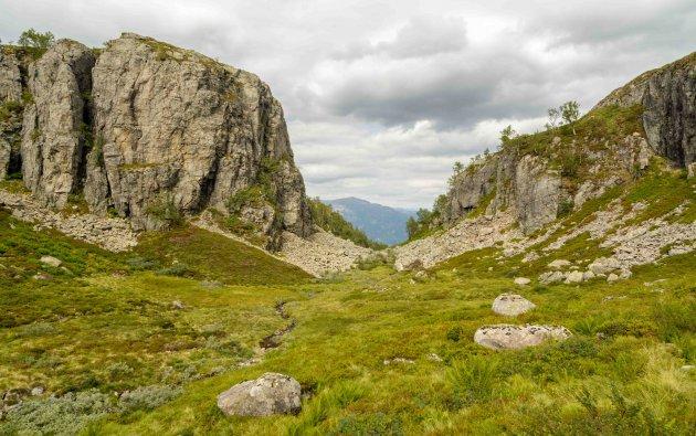 dwalen in Hardangervidda