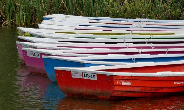 bootje huren op Lacul Roşu