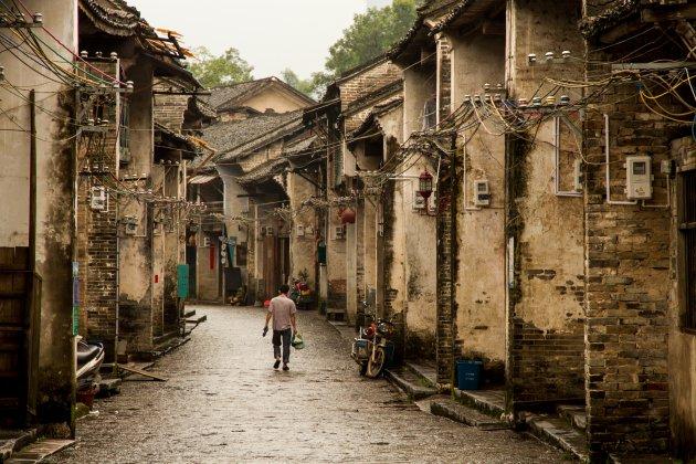 Verdwaal in het oude centrum van Xingping