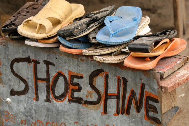 Shoeshine!