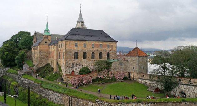 Her Akershus in Noorwegen