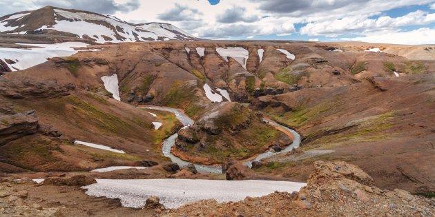 IJslandse Horseshoe Bend