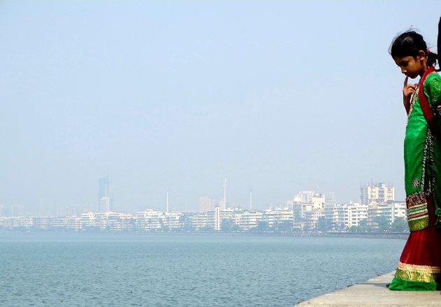 Skyline in the smog