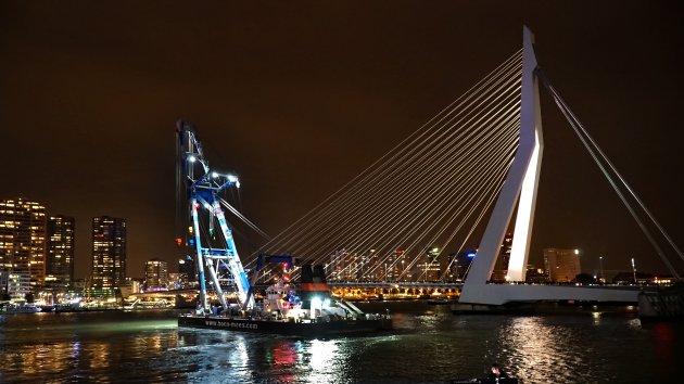 Rotterdamse wereldhavendagen, ook 's nachts