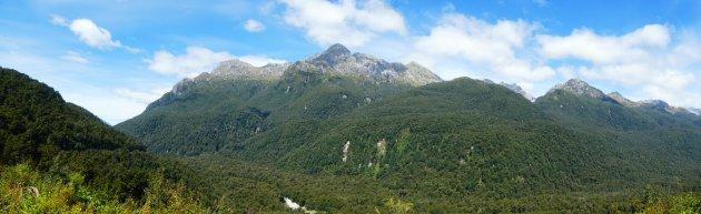 Groen Fiordland (Panorma)