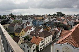 Stavanger vanuit de hoogte